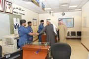 Director of Dubai Customs orders further control measures at Cargo Village Customs Center caption of image