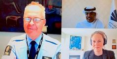 Dubai Customs and Norwegian counterpart convene by video conference on trade and covid19